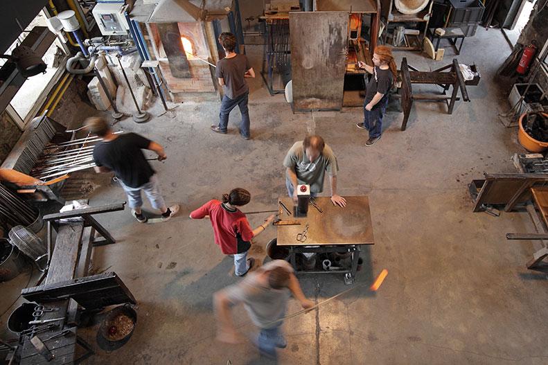 Atelier du CIAV - Crédit Guy Rebmeister